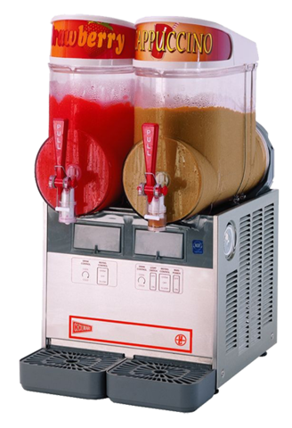2 Bowl Frozen Slush Machine